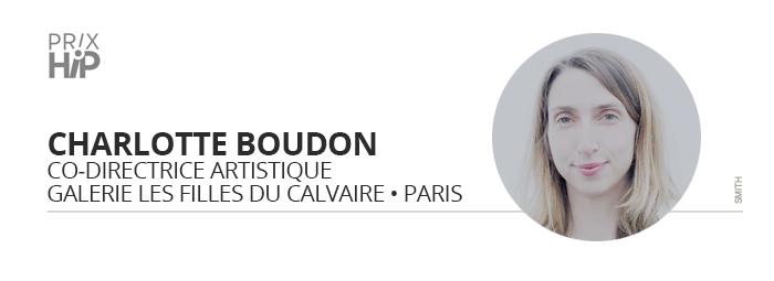 Charlotte Boudon, membre du jury des Prix HiP 2020