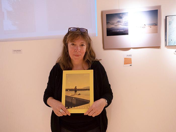 L'autrice Élise Llinarès