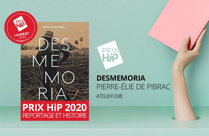 """Lauréat du Prix HiP 2020 catégorie """"Reportage et histoire"""" : Desmemoria, de Pierre-Élie de Pibrac (Xavier Barral / Atelier EXB)"""