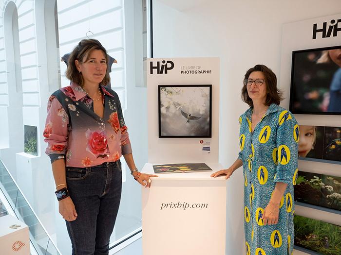 L'autrice Marie Liesse et Alice Liège, directrice littéraire Petite enfance chez Gallimard Jeunesse
