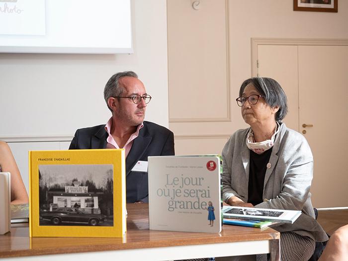 John Briens et Françoise Chadaillac
