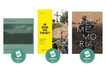 """Les 3 finalistes des Prix HiP 2020 • catégorie """"Reportage et histoire"""""""