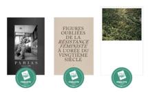 """Les 3 finalistes des Prix HiP 2020 • catégorie """"Autoédition"""""""