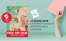 """Lauréat du Prix HiP 2020 catégorie """"Premier livre"""" : Le Grand Jour, de Catherine Rombouts et Sophie Richelle (Loco éditions)"""