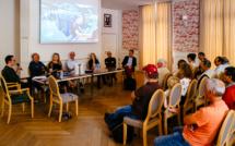 Table ronde organisée par HiP en 2018 à Bièvres © Laurent Lavergne