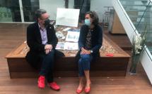 Rencontre avec Mme Florence Provendier, députée des Hauts-de-Seine, autour du livre de photographie